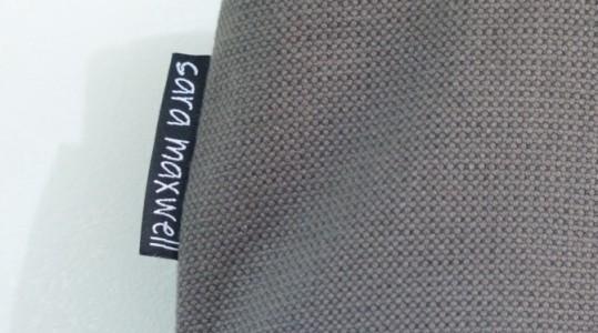 grey polka dot