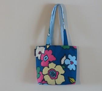 blue floral full
